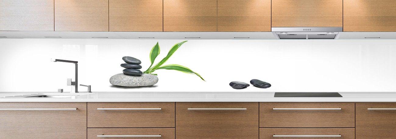 crédence galet zen bamboo