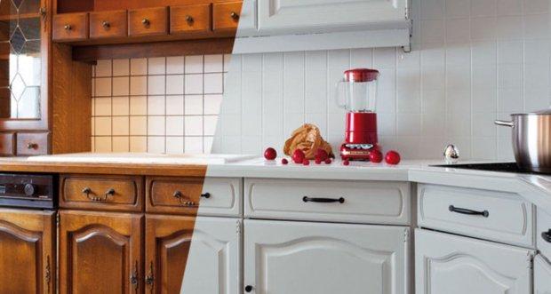 repeindre ses façades de cuisine